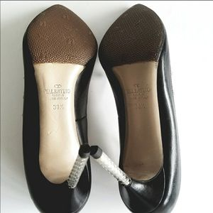 Valentino Shoes - Authentic black leather Rockstud pumps sz 38.5